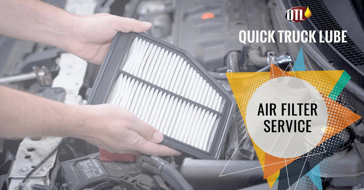 semi truck air filter